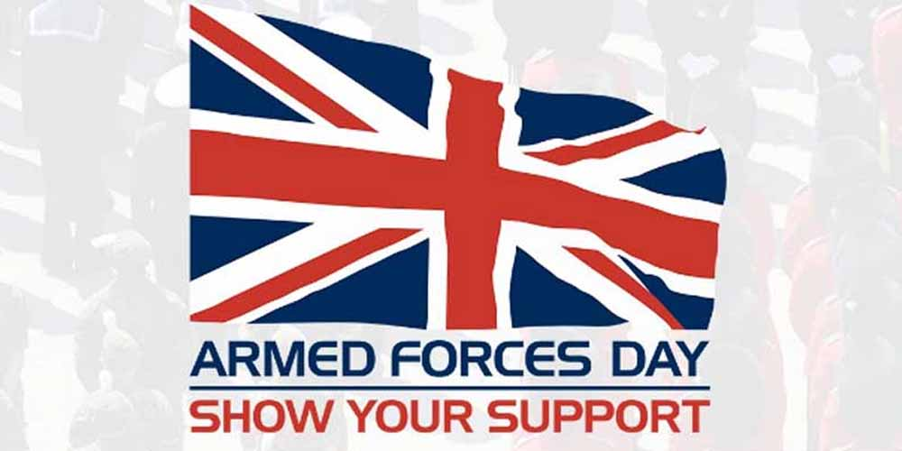 We are supporting Armed Forces Day