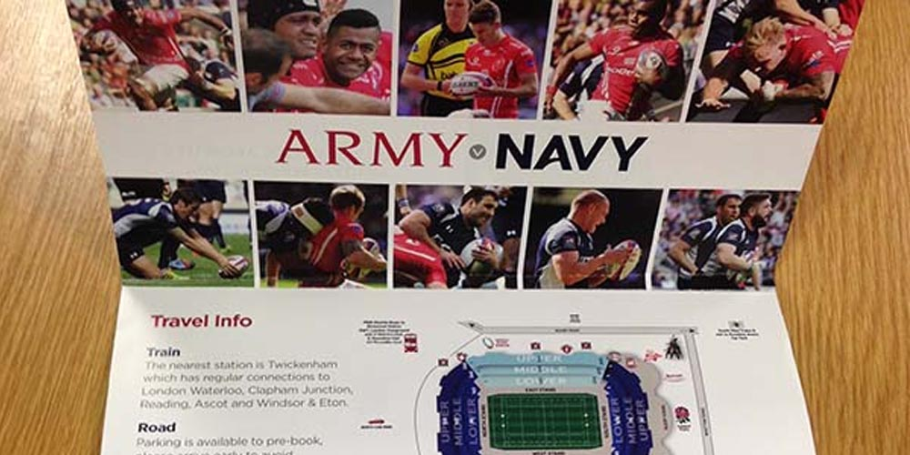 Win tickets to the Army v Navy Babcock Trophy at Twickenham