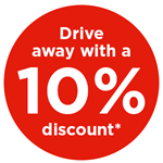10% discount*