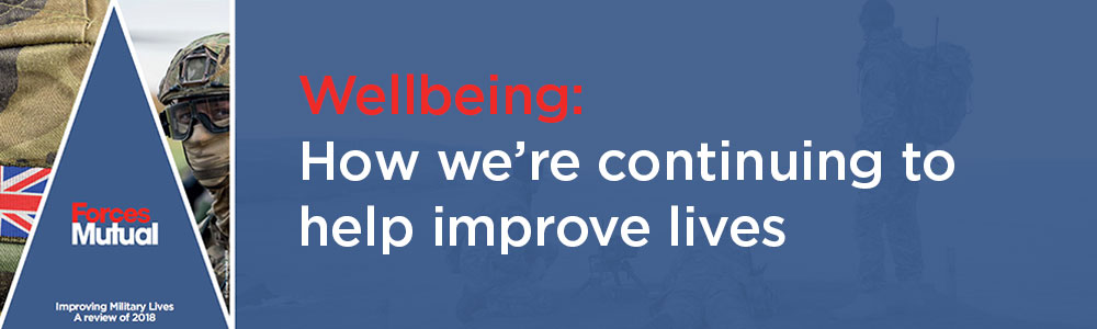 Wellbeing: How we're continuing to help improve lives