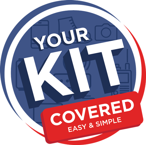 Your Kit is covered