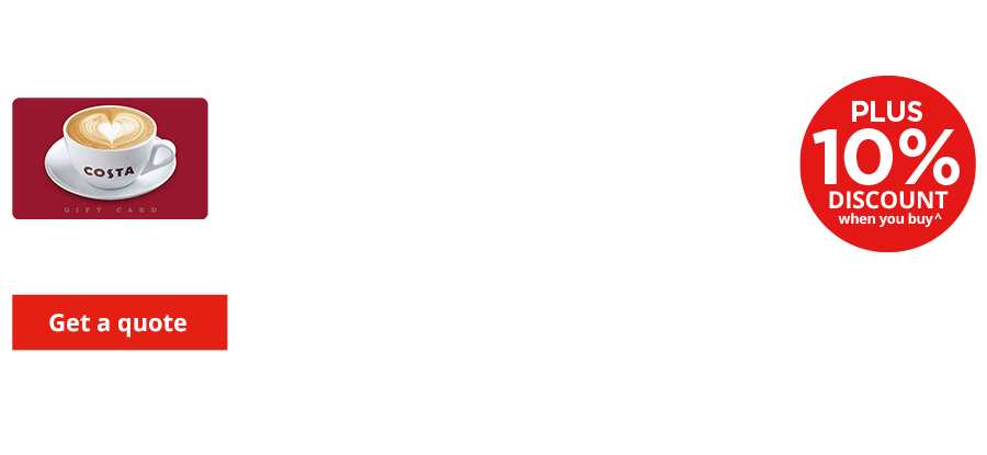 Have a Costa Coffee on us